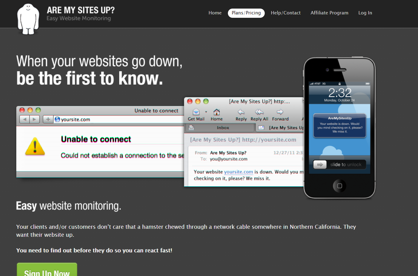 AreMySitesUP - Is Website Down? 10 Tools to Check Your Website
