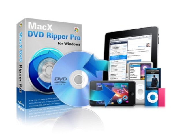 Copies of MacX DVD Ripper Pro for Windows