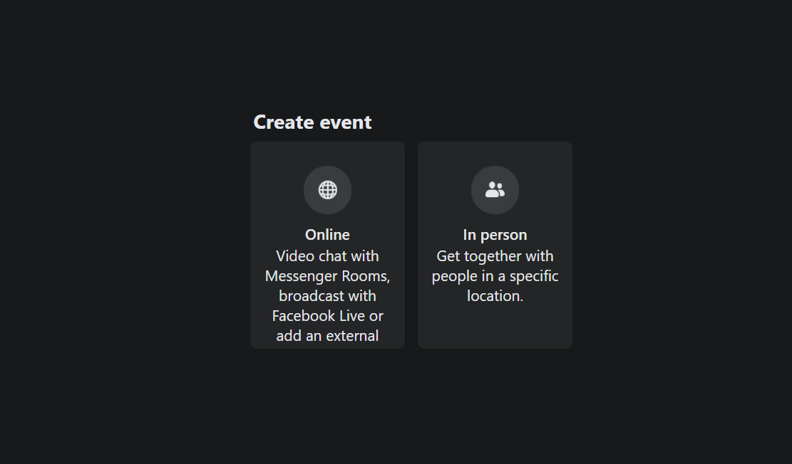private or public events - How to Invite All Friends to Facebook Event