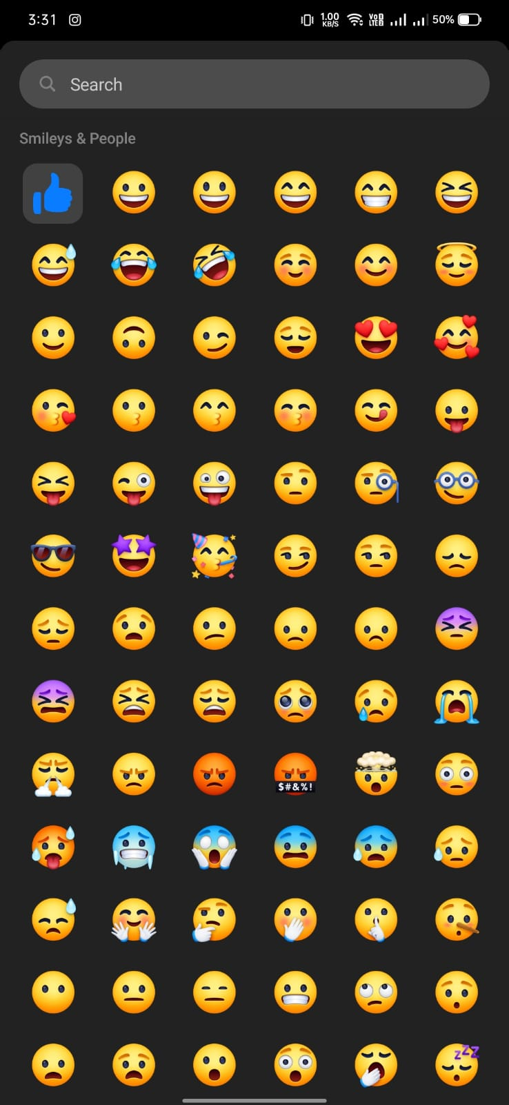 custome emoji - How to Change the Thumbs Up Icon in Facebook Chat