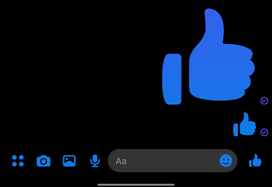 like button - turn off chat heads