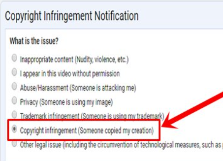 copyright issuest - How to Report a Copyright Complaint in YouTube
