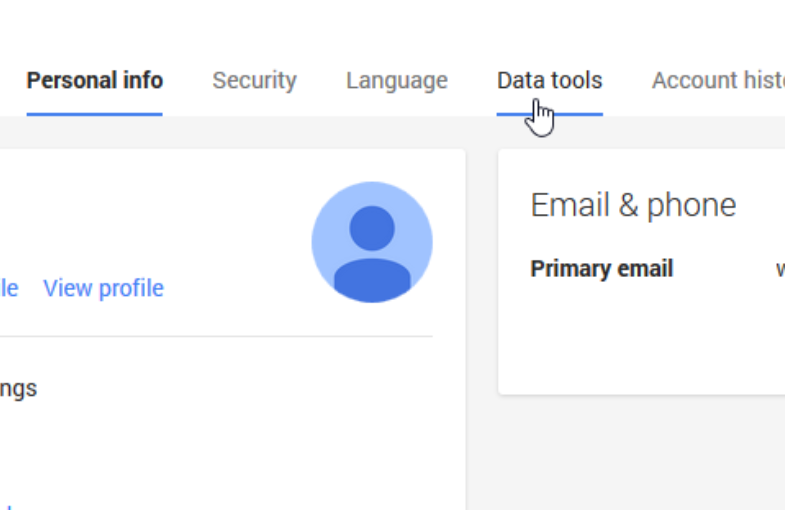 data tools - How to Delete Google Plus Page