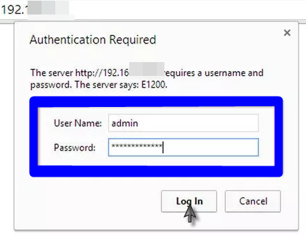 step 3 - How to Change a Router Password