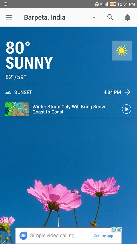 weather -Weather Channel App